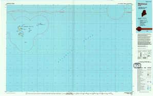 Matinicus 1:250,000 scale USGS topographic map 43068e1