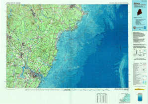 Kittery topographical map