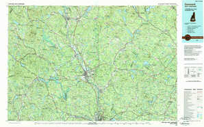 Concord topographical map