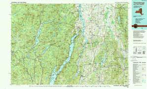 Ticonderoga topographical map