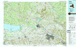 Utica topographical map