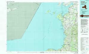 Pulaski topographical map