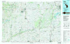 Alma 1:250,000 scale USGS topographic map 43084a1