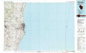 Sheboygan topographical map