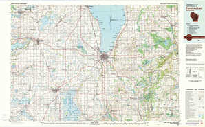 Fond Du Lac topographical map