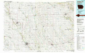 Charles City topographical map
