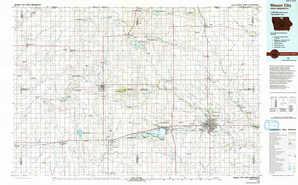 Mason City topographical map
