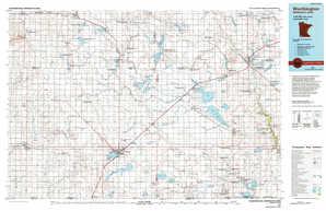 Worthington topographical map
