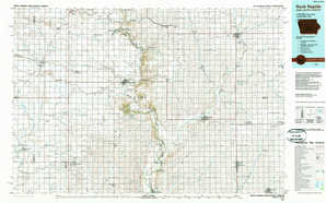 Rock Rapids topographical map