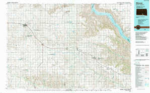 Winner topographical map