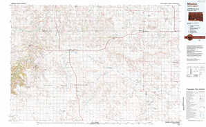 Mission topographical map