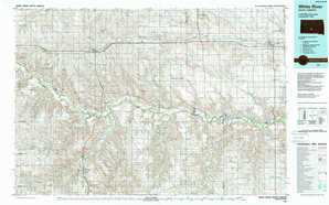 White River topographical map