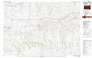 Kadoka topographical map