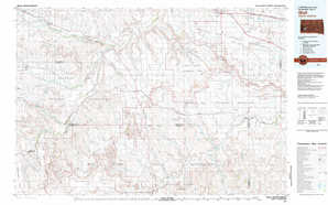 Wall topographical map