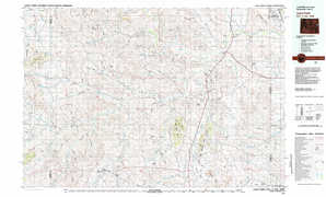 Lance Creek topographical map
