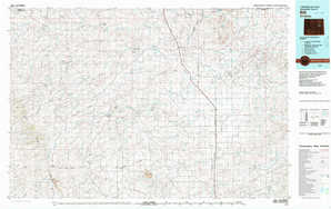 Bill topographical map