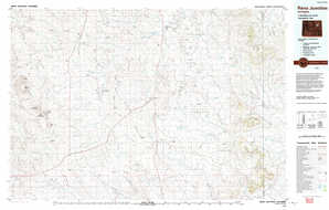 Reno Junction topographical map