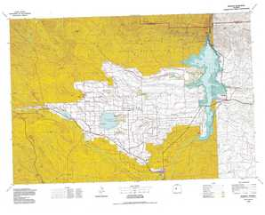 Riverton topographical map