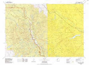 Gannett Peak topographical map