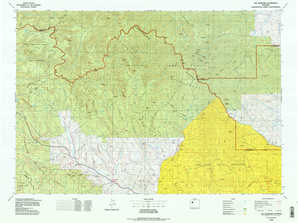 The Ramshorn topographical map