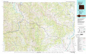 Jackson topographical map