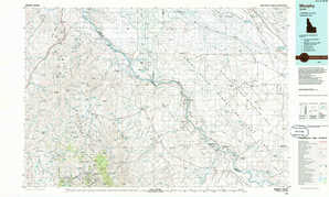 Murphy topographical map