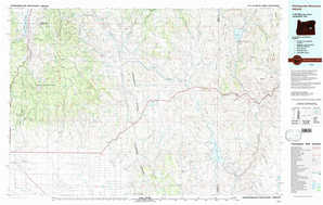 Stinkingwater Mountains topographical map