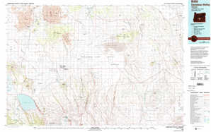 Christmas Valley 1:250,000 scale USGS topographic map 43120a1