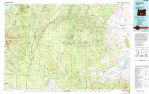 Crescent 1:250,000 scale USGS topographic map 43121a1