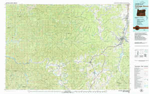 Cottage Grove topographical map