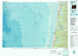 Reedsport topographical map