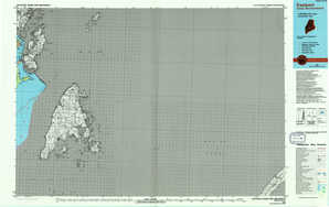 Eastport topographical map