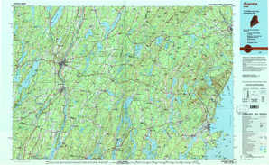 Augusta topographical map