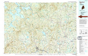 Rumford topographical map
