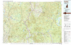 Groveton topographical map