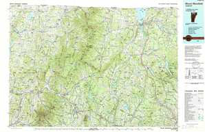 Mount Mansfield topographical map