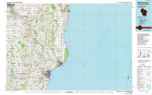 Manitowoc topographical map