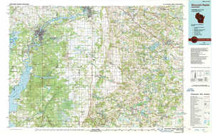 Wisconsin Rapids topographical map