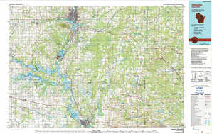 Wausau topographical map