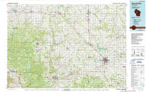 Marshfield topographical map