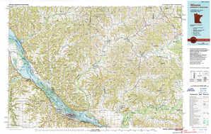 Winona topographical map
