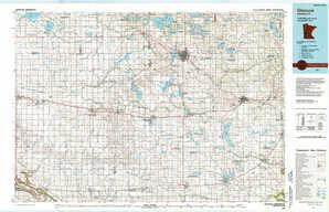 Glencoe topographical map