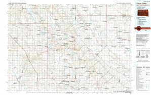 Clear Lake topographical map