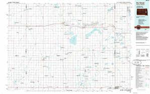 De Smet topographical map