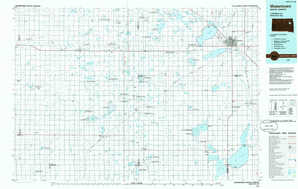 Watertown topographical map