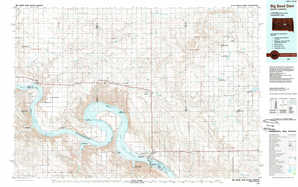 Big Bend Dam 1:250,000 scale USGS topographic map 44099a1