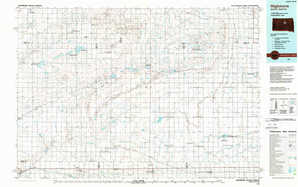 Highmore 1:250,000 scale USGS topographic map 44099e1