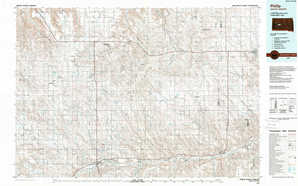 Philip topographical map