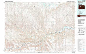 Cherry Creek topographical map