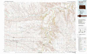 New Underwood 1:250,000 scale USGS topographic map 44102a1